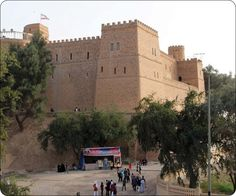 Iran-historic castle of Susa, the traces left by the Qajar period, in the city of Susa in Khuzestan Province.