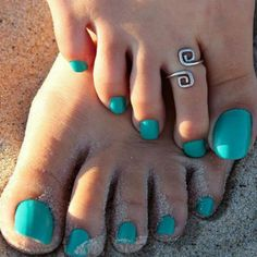 This pretty Greek Key style toe ring is the perfect addition to your…