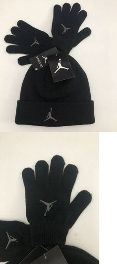 0c055eca270 Boys Accessories 57881  Nike Air Jordan 2 Piece Boys Beanie Cap Hat And  Gloves Set Black Size 8 20 Nwt ! -  BUY IT NOW ONLY   17.98 on  eBay   accessories ...