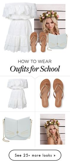 """""""I've been so busy with school """" by jasloves5sos on Polyvore featuring LoveShackFancy, Aéropostale and Ted Baker"""