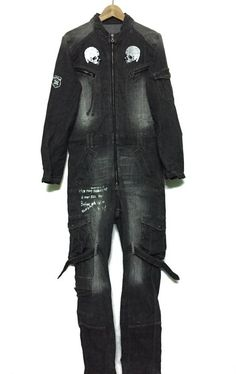 435ee7cbcc 🔥🔥1 DAY SALE ONLY🔥🔥Rare!!!!PPFM Anarchy Coverall Punk Hard Core Design  Anarchy Denim Double Skull. Grailed