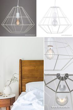 scandinavische witte hanglamp diamond wwwstralumanl