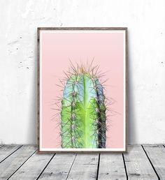 Cactus Print Cactus Photography Printable by MotivatedWallArt