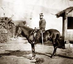 Viscount Kirkwall, Captain 71st Highlanders, during the Crimean War.