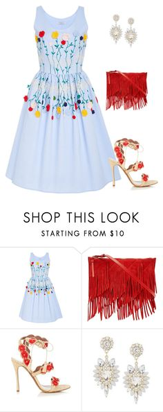 """""""Untitled #2736"""" by elia72 ❤ liked on Polyvore featuring VIVETTA, Reiss and Tabitha Simmons"""