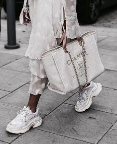 Top 38 Designer Dad Sneakers on trend! – Top 38 Designer Dad Sneakers on trend! – Top 38 Designer Dad Sneakers on trend! Chanel Handbags, Fashion Handbags, Tote Handbags, Fashion Bags, Fashion Accessories, Tote Bags, Chanel Fashion, Designer Handbags, Fabric Handbags