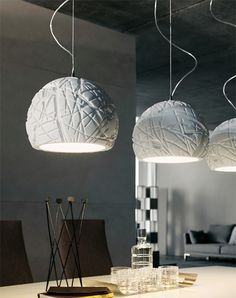 White Pendant Lights by Cattelan Italia