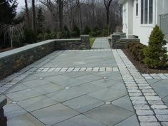 flagstone pavers design for outdoor flooring ideas: flagstone ... - Stone Patio Designs