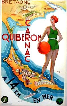 old poster -ad for Quiberon by april-mo, via Flickr