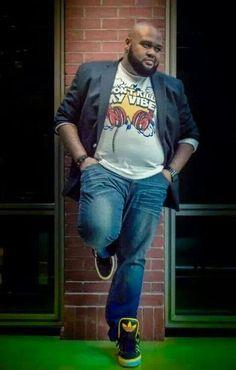Urban Clothes For Big Guys Mens Plus Size Fashion, Large Men Fashion, Men Fashion Show, Look Fashion, Plus Size Men, Moda Plus Size, Clothes For Big Men, Chubby Men, Mode Plus