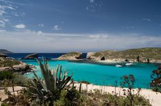 Blue Lagoon, Comino Island, Malta (Comino Island is one of the spots where the Count of Monte Cristo was filmed)