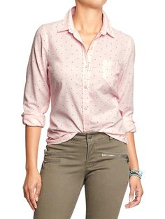 Women's Oxford Shirts Product Image