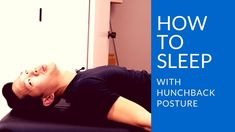 How to improve hunchback posture while you sleep: the best sleeping posi. Sleep Posture, Posture Fix, Bad Posture, Improve Posture, Scoliosis Exercises, Posture Exercises, Parkinsons Exercises, Best Sleep Positions, Daily Exercise Routines