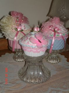 Three Hand Crafted Victorian Shabby Chic by ScrumptiousLovables