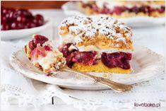 Ciasto z wiśniami i pianką - I Love Bake