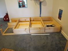 Underbed Storage plans for Kura Bed