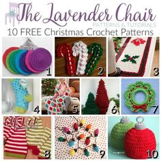 With these crochet Christmas patterns you can decorate your home and get in the festive mood. From ornaments to blankets these Christmas patterns are a win!