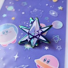 Crystal Shard Rainbow Metal Enamel Pin by Jelly Ultra Rainbow Metal, Bag Pins, Jacket Pins, Cool Pins, Hard Enamel Pin, Pin And Patches, Metal Pins, Up Girl, Pin Badges