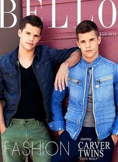 the twins! yes they can be total jerks but still completely hot! i'm in love with all the teen wolf boys but DEREK IS MINE! lolz <3