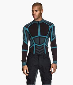 H&M Seamless outdoortröja