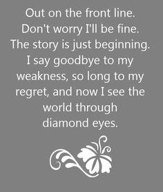 Shinedown - Diamond Eyes - song lyrics, song quotes, songs, music lyrics, music quotes,