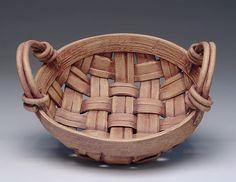 Basket weave pot, singing hands pottery