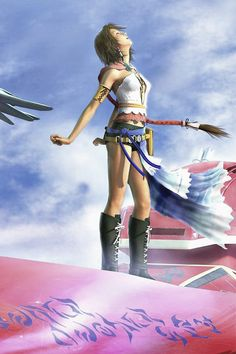 Yuna - Final Fantasy 10-2