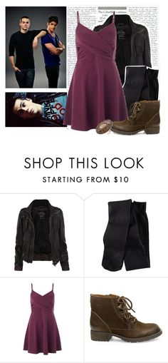 """Going On A Date ( Scott ) ~ Tw Challenge Group"" by jen-the-glader ❤ liked on Polyvore featuring AllSaints, H&M, Miss Selfridge and Steve Madden"