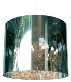 Suspension Light Shade Shade Ø 95 cm Miroir et argenté Ø 95 cm - Moooi