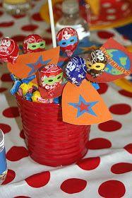 Party Wishes: Superhero Party Avengers Birthday, Superhero Birthday Party, 4th Birthday Parties, Boy Birthday, Birthday Ideas, Party Time, Spy Party, Party Favors, Nacho Libre