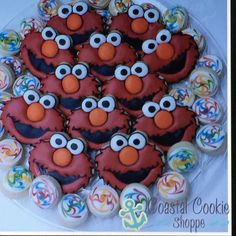 Coastal cookie shoppe Sesame Street Cookies, Coastal, Desserts, Food, Tailgate Desserts, Deserts, Essen, Postres, Meals