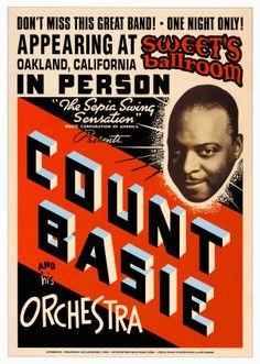Count Basie, Sweet's Ballroom circa 1939