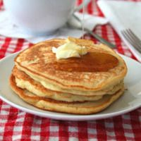 Coconut Flour Pancake Recipe | All Day I Dream About Food