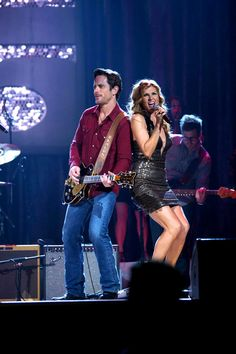 Nashville (ABC) - Chip Esten and Connie Britton