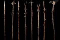 The Hobbit: An Unexpected Journey - Goblin & Orc Spears Weta Workshop