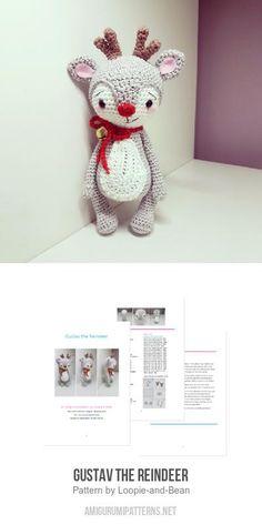Crochet plush animal amigurumi pattern Gray rat to create | Etsy | 473x236