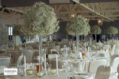 Dekoracje sal - BARBARA STUDIO - dekoracje na ślub i wesele, wystrój sal weselnych, organizacja ślubów Gdańsk, Sopot, Gdynia
