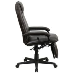 Office Chair – Flash Furniture High Back Black Leather Executive Reclining Swivel Chair with Arms Reclining Office Chair, Leather Recliner Chair, Swivel Office Chair, Ergonomic Office Chair, Contemporary Office Chairs, Executive Office Chairs, Stylish Chairs, Space Furniture, Foot Rest