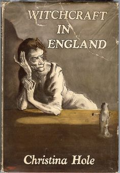 'witchcraft in england' (with illustrations by mervyn peake); found my own copy recently