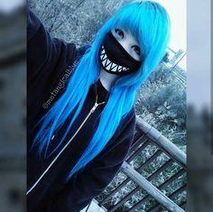 we life is good Emo Scene Hair, Emo Hair, Cute Scene Girls, Cute Girls, Pelo Emo, Chica Dark, Estilo Harajuku, Goth Kids, Cyberpunk Girl