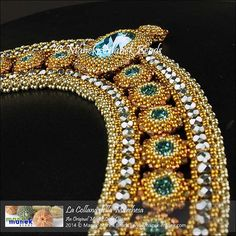Beaded Jewelry Designs, Seed Bead Jewelry, Handmade Jewelry, Beaded Jewellery, Jewelry Crafts, Jewelry Art, Women Jewelry, Jewelry Ideas, Maxi Collar
