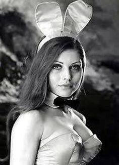 Debbie Harry as a Playboy Bunny in the late 60's