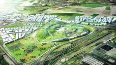 Bjarke bir yürüyüş:   Mimar yeşil çatı tepesinde mini şehir tanıttı MNN - Tabiat Ağı