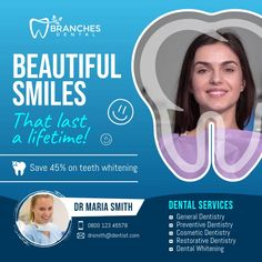 Customize this video with your photos and text. Perfect for social media and digital displays. Presentation Magazine, Preventive Dentistry, Dentist Clinic, Family Collage, Restorative Dentistry, Dental Services, Brochure Layout, Certificate Templates, Cosmetic Dentistry