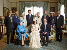 Royal family and lovely #WindowTreatments! via StyleList