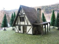 Galleries - ScaleCast Farm Village, Blacksmithing, Scale Models, Scenery, Cottage, Cabin, Architecture, House Styles, Gallery