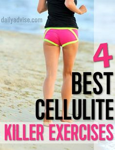 These Are The Most Effective 4 BEST Cellulite KILLER Exercises! - DailyAdvise