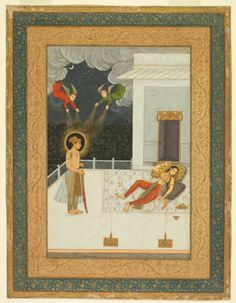 The Dream of Zuleykha: A Page from the Amber Album | Cleveland Museum of Art