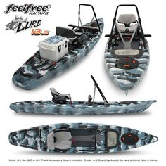 2015 Feelfree Lure Fishing Kayak-Stand Up Best Fishing Kayak, Saltwater Fishing Gear, Kayak Camping, Canoe And Kayak, Fishing Lures, Fishing Boats, Fly Fishing, Fishing Stuff, Canoe Trip