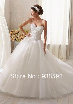 Tulle princess wedding dress <3